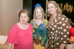 Nanette Correia, Monica Arruda e Marize Castelo Branco