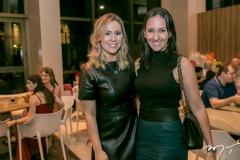 Nanette Pimentel e Karine Coimbra