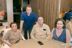 Yole, Leonardo, Roberto e Emiliana Pimentel