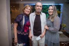 Angela, Eimar e Ana Paula Freire