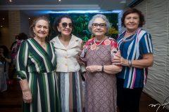 Bárbara Freire, Hortencia Gualberto, Dina Rúbio e Aurora Régia
