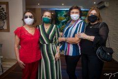 Conceição Pinho, Bárbara Freire, Aurora Régia e Rejane Fujita