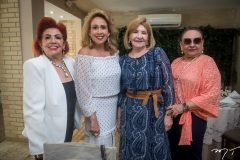 Maria Jozilda Belchior, Ana Flávia  Carvalho, Zelene e Zenaide Bezerra