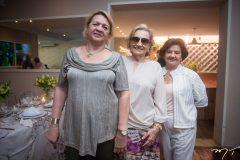 Nilce Fontenele, Lucivalda Pinheiro e Mosa Vasconcelos