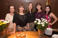 Norma Brasil, Carmen Cinira, Joria Araripe, Melania Torres E Ticiana Vasconcelos