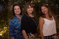 Teka Frota, Carmen Cinira E Denise Prado