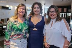 Aline Feitosa, Cláudia Gradvohl e Ana Pinheiro