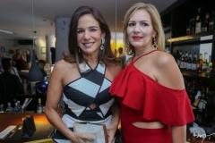Ana Virgínha Martins e Márcia Peixoto
