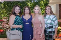 Andréa Rios, Cláudia Gradvohl, Sandra Fujita e Ailza Ventura