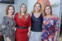Cláudia Fujita, Danielle Pinheiro, Andréa Delfino e Meire Helena Dias