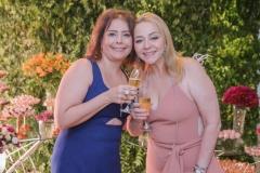 Cláudia Gradvohl e Sandra Fujita
