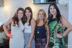 Cláudia Quental, Lorena Pouchain, Leticia Studart e Izabela Fiuza