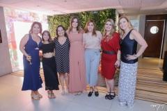 Claudia Gradivol, Carol e Amelia Brandão, Bia Gradivol, Cristiane de Faria, Daniele Pinheiro e Andrea Delfino