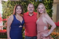 Claudia Gradivol, Dj Magno e Sandra Fujita