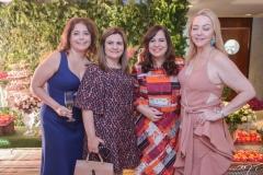 Claudia Gradivol, Najela Correia, Martinha Assunção e Sandra Fujita