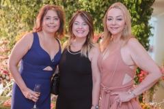 Claudia Gradivol,Erika Girão e Sandra Fujita
