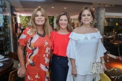Cristiane Lima, Fernanda Mattoso e Sarah Philomeno