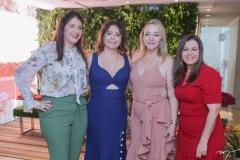 Elisa Olivera, Cláudia Gradvohl, Sandra Fujita e Diana Cabral