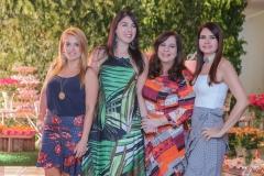 Leticia Studart, Izabela Fiuza, Martinha Assunção e Lorena Pouchain