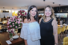 Maria Lúcia Negrão e Érica Girão