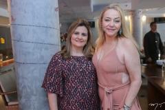 Nájla Corrêa e Sandra Fujita
