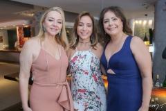 Sandra Fujita, Ana Paula Daud e Cláudia Gradvohl
