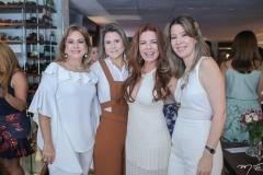 Sarah Philomeno, Camille Cidrão, Cláudia Quental e Lara Fujita