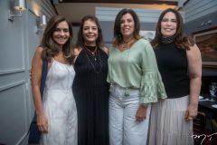Cristina Brasil, Cláudia Gradvohl, Nara Amaral e Andreia Rios.
