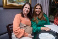 Izabel Ari e Cristiane Figueredo.