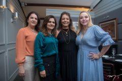 Izabel Ary, Nájla Corrêa, Cláudia Gradvohl e Sandra Fujita.