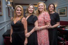 Letícia Studart, Suyane Dias Branco , Andreia, Delfino e Michelle Aragão.