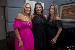 Márcia Peixoto, Cláudia-Gradvohl e Adriana Bezerra.
