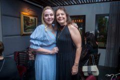 Sandra Fujita e Cláudia Gradvohl.