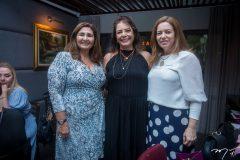 Simône Jereissati, Cláudia Gradvohl, e  Inês Cavalcante