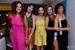 Ana Virginia Martins, Cris Faria, Maria Clara Bezerra, Tarciana Caracas e Ana Cristina Mendes