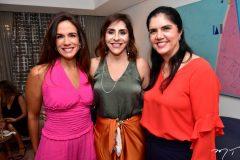 Ana Virginia Martins, Cris Faria e Natasha Martins