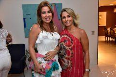 Ana Vládia Barreira e Katiana Valencia