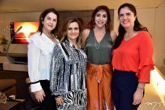 Bebel Ary Silva, Nagila Correa, Cris Faria e Natasha Martins