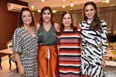 Cláudia Gradvohl, Cris Faria, Adriana Teixeira e Bia Gradvohl