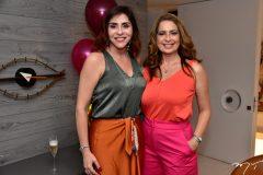 Cris Faria e Márcia Andrea