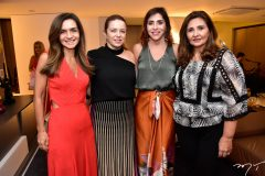 Cristina Brasil, Inês Cavalcante, Cris Faria e Simone Jereissati