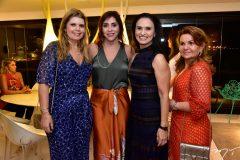 Daniele Arruda, Cris Faria, Neusa Rocha e Sônia Praça