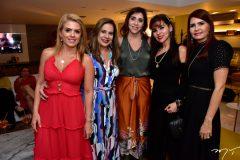 Leticia Studart, Martinha Assunção. Cris Faria, Zildinha Pessoa e Lorena Poucher