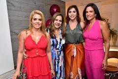 Leticia Studart, Martinha Assunção, Cris Faria e Ana Virginia Martins