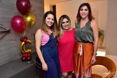 Lidia e Mariana Pinto e Cris Faria