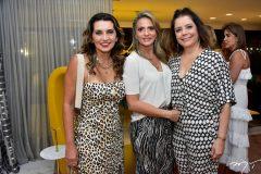 Márcia Travessoni, Michele Aragão e Cláudia Gradvohl