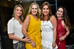 Michele Aragão, Márcia Peixoto, Ana Vládia Barreira e Adriana Bezerra