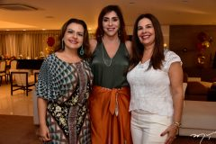 Roberta Ary, Cris Faria e Gina Campos