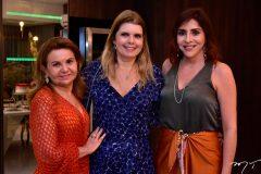 Sonia Praça, Daniele Arruda e Cris Faria