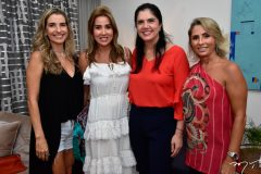 Tarciana Caracas, Ana Vládia Barreira, Natasha Martins e Katiana Valência